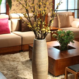 Vase furnishing articles flower arranging Nordic ceramic dry flower contemporary and contracted large sitting room adornment landing Europe type of jingdezhen