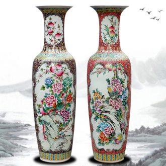 Jingdezhen ceramic vase of large sitting room opened the door the study large China ornaments