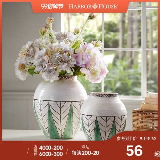 Harbor House, ceramic vases, furnishing articles sitting room TV ark flower arranging, American household adornment Uganda