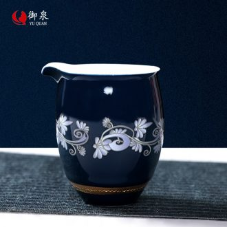 Imperial springs ceramic fair mug tea is tea sea suit household male cup points kung fu tea tea cups