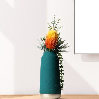 Vase furnishing articles sitting room flower arranging the Nordic ceramic household act the role ofing is tasted decorate the room TV cabinet desk dried flowers 砙 porch