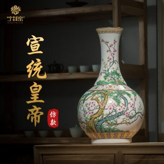 Better sealed kiln archaize sitting room place jingdezhen ceramic vase pastel hand-painted porcelain rich ancient frame of new Chinese style porch