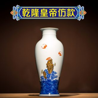 Better sealed kiln porcelain of jingdezhen ceramic vases, goddess of mercy bottle furnishing articles home sitting room porch antique small rich ancient frame