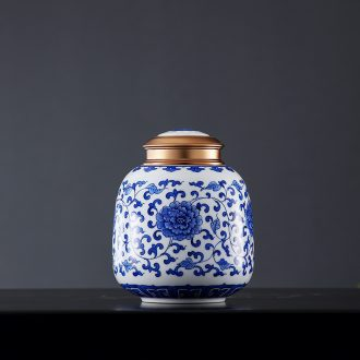 Lamp act the role ofing furnishing articles form a complete set of new Chinese style ceramic vase cut art hand-painted restoring ancient ways of blue and white porcelain decoration simple coloured drawing or pattern