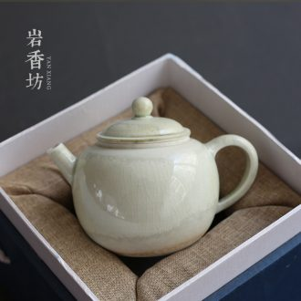 YanXiang fang to burn the hand throwing the teapot ceramic kiln manual single pot teapot kung fu tea set