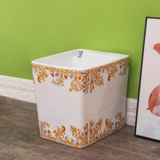 The rain QuanYang machine for modern ceramic household mop mop pool basin bathroom automatic mop pool water pool