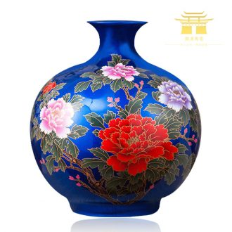 Jingdezhen ceramics vases, flower arranging is contracted and creative home sitting room ark furnishing articles of handicraft ornament