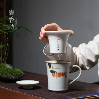 YanXiang fang open the slice your kiln ceramic filter cup tea tea cups of tea cup office restoring ancient ways
