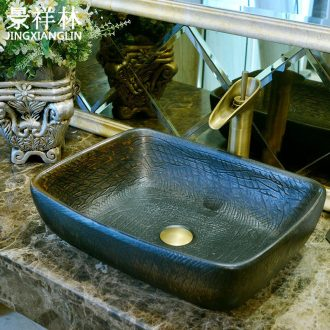 Jingdezhen sanitary ceramics stage basin washing a face, the basin that wash a face basin art toilet lavabo, wash basin