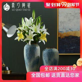 Dew retro light ceramic vase luxury living room TV ark opportunely creative flower arrangement bedroom furnishing articles home decoration bottles