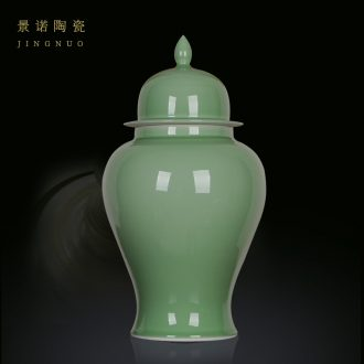 Scene, jingdezhen ceramics glaze color general crack tank storage tank home sitting room kitchen furnishing articles