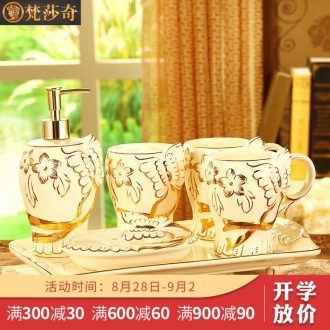 Vatican Sally's wedding present for girlfriends friend to washing set ceramic sanitary ware five new European furnishing articles