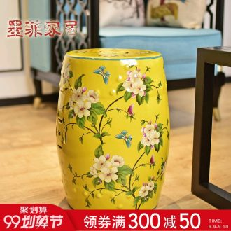 Murphy's American country large ceramic stool soft adornment in the sitting room of new Chinese style of dress shoes stool cold pier bench furnishing articles
