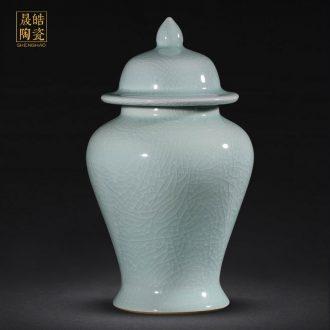 Archaize royal porcelain of jingdezhen ceramics vase general tank storage tank sitting room porch vestibular adornment furnishing articles