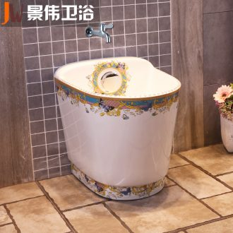 Rectangular balcony mop pool bathroom floor mop pool household mop pool ceramic mop basin large