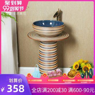 Koh larn restoring ancient ways, qi column basin ceramic pillar lavabo lavatory toilet home floor