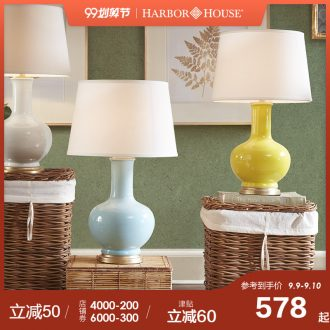 Opens to booking a Harbor House lamp lamps and lanterns of the sitting room is contracted and contemporary American ceramic lamp Casila of bedroom the head of a bed