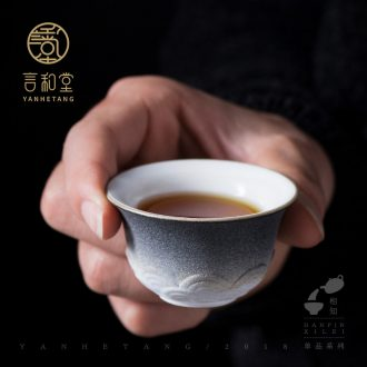 And the line of ceramic cups and hall sample tea cup single kung fu tea cup of Japanese tea cup tea cup