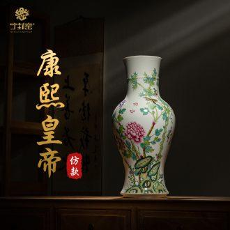 Better sealed kiln jingdezhen ceramics from archaize sitting room of Chinese style furnishing articles large sitting room vase household porcelain of goddess of mercy bottle