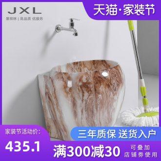 Marble basin of mini mop mop pool ceramic toilet topaz pool floor mop pool mop pool under the small pool
