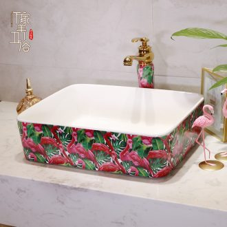 M beautiful stage basin ceramic lavabo single household toilet stage basin ceramic lavatory basin