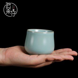 Tea seed your kiln single glass ceramic cups kung fu tea tea cup sample tea cup bowl of tea light cup master cup