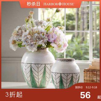 Harbor House, ceramic vases, furnishing articles sitting room TV ark flower arranging, American household adornment Uganda