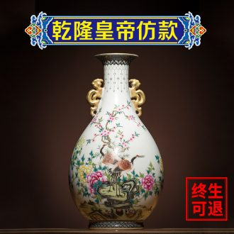 Better sealed kiln jingdezhen ceramics small vase manual archaize furnishing articles ears okho spring bottle of home decoration