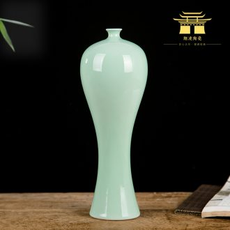 Jingdezhen sitting room of contemporary and contracted creative flower arranging furnishing articles home decoration ceramic dry flower vase floral arrangements