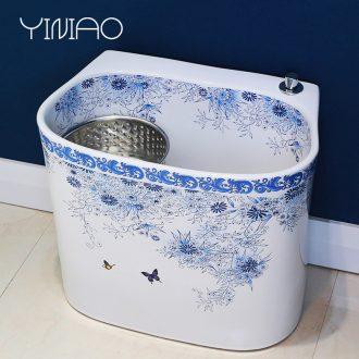 Million birds sanitary ceramic mop mop pool pool square mop mop mop basin basin large balcony wash mop pool