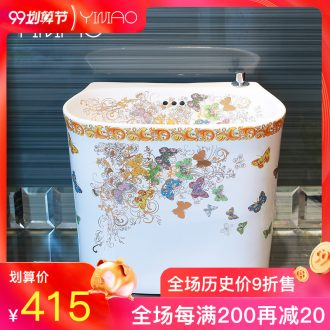 Million birds home art ceramic mop pool balcony mop pool washing basin large mop mop pool toilet