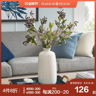 Harbor House decorate household act the role ofing is tasted American retro do vases, flower implement ceramic vase Voyage