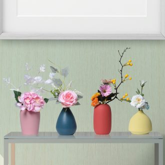 Floret bottle furnishing articles sitting room dry flower arranging flowers Nordic household act the role ofing is tasted, ceramic TV ark contracted and contemporary room desk