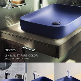 Sapphire stage basin to square the sink ceramic household toilet lavatory single legend color small hotel