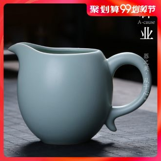 Auspicious industry fair mug your kiln open a piece of ice to crack large tea and a cup of tea sea points kung fu tea set your porcelain ceramics