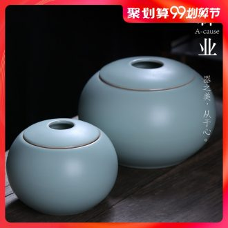 Your kiln caddy auspicious industry ceramic POTS storage tanks seal pot large kung fu tea set your porcelain small storage tank