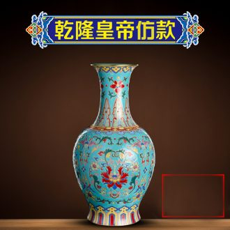 Better sealed kiln archaize sitting room new Chinese style ceramic furnishing articles jingdezhen porcelain of goddess of mercy bottle vase household large sitting room