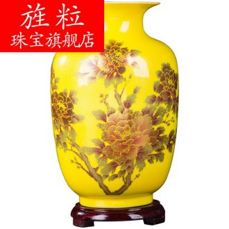 Q3301 jingdezhen ceramic crystal glaze furnishing articles porcelain flower arranging floret bottle of contemporary vogue of new Chinese style household