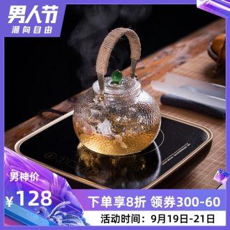 Jingdezhen electric TaoLu electric kettle boil tea ware thickening heat-resistant glass teapot flower pot pot
