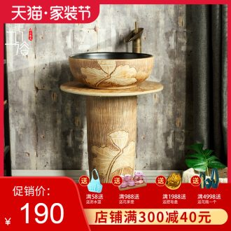Ceramic basin to post one basin vertical column pillar toilet lavabo, pillar type lavatory floor type