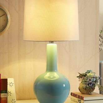 Mediterranean example room living room lamp light ceramic large European postmodern contracted creative of bedroom the head of a bed