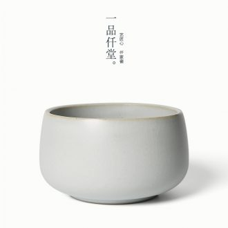 Yipin thousand hall built archaize color of tea water wash bowl of jingdezhen Japanese hot dry tea tea-leaf ceramic pipe