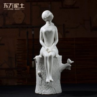 Oriental soil home furnishing articles ornaments creativity personality character sculpture art ceramics handicraft sitting room/follow the scent