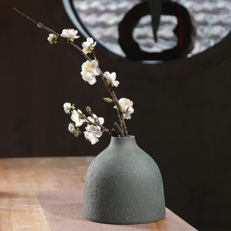 Do old coarse pottery vases, dried flowers sitting room new Chinese zen ceramic flower POTS in living in adornment table furnishing articles