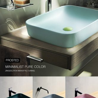 Stage basin northern wind rectangle lavatory ceramic art of toilet stage basin sink single basin basin