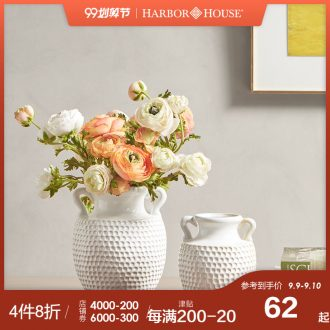 Harbor House American household contracted hangers ceramic vases, pure and fresh and decorative furnishing articles flowers, Sylvia