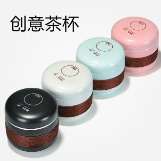 St to hide a single cup ceramic filter with a cup of mini kung fu tea set home portable travel to crack a cup of tea