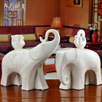 The east soil moved into gifts dehua white porcelain ceramic decoration home furnishing articles/sitting room like D02-43