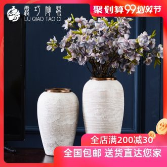Dew ceramic vases, sitting room of contemporary and contracted household TV ark opportunely show originality retro porch is decorated furnishing articles