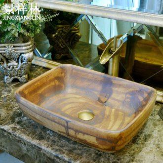 Ideas retro toilet stage basin of archaize ceramic lavabo lavatory basin art basin
